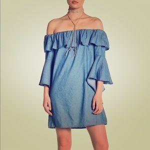 JEALOUS TOMATO SHIFT DRESS